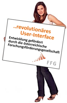 revolutionäres User-Interface
